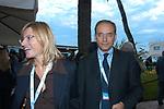 ANNA MARIA ARTONI CON ENRICO LETTA<br /> CONVEGNO GIOVANI IMPRENDITORI DI CONFINDUSTRIA<br /> CAPRI 2005