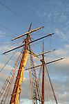 Tall Ship mast Annapolis Maryland, mast, United States Naval Academy USNA, The Boat School, Canoe U, Maryland, Annapolis is the capital of Maryland, Fine Art Photography by Ron Bennett, Fine Art, Fine Art photography, Art Photography, Copyright RonBennettPhotography.com ©