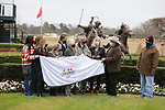 January 23, 2021: Winners circle after winning the Fifth Season Stakes at Oaklawn Racing Casino Resort in Hot Springs, Arkansas on January 22, 2021. Justin Manning/Eclipse Sportswire/CSM