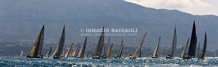 Flota durante la salida