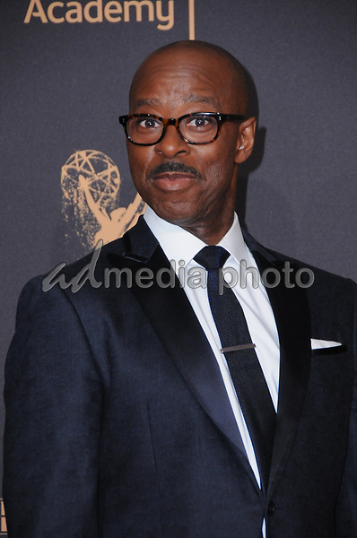 10 September  2017 - Los Angeles, California - Courtney B. Vance. 2017 Creative Arts Emmys - Arrivals held at Microsoft Theatre L.A. Live in Los Angeles. Photo Credit: Birdie Thompson/AdMedia