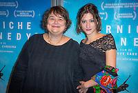 Dominique Cabrera et Lola Creton ‡ L'avant premiËre du film Corniche Kennedy Au MK2 BibliothËque ‡ Paris le 17 janvier 2017