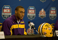 BCS Championship - LSU Offensive Press Conference January 07 2012
