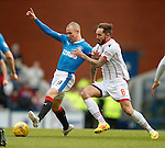Kenny Miller and Martin Woods