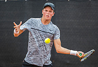 Rotterdam, Netherlands, August21, 2017, Rotterdam Open, Marc Dijkhuizen (NED)<br /> Photo: Tennisimages/Henk Koster
