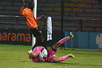 Mark Cousins of Bromley F.C. smoothers the ball during Barnet vs Bromley, Vanarama National League Football at the Hive Stadium on 14th November 2020