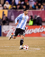 Ever Banega. The USMNT tied Argentina, 1-1, at the New Meadowlands Stadium in East Rutherford, NJ.