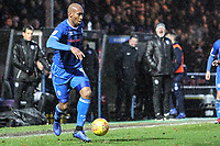 Calvin Andrew (Rochdale AFC) during the Sky Bet League 1 match between Rochdale and Plymouth Argyle at Spotland Stadium, Rochdale, England on 15 December 2018. Photo by James  Gill / PRiME Media Images.