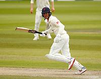 28th May 2021; Emirates Old Trafford, Manchester, Lancashire, England; County Championship Cricket, Lancashire versus Yorkshire, Day 2; Keaton Jennings of Lancashire runs between wickets