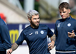 St Johnstone Training…10.05.18<br />Richie Foster pictured during training ahead of the final game of the season against Ross County<br />Picture by Graeme Hart.<br />Copyright Perthshire Picture Agency<br />Tel: 01738 623350  Mobile: 07990 594431