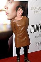 Alessandra Sublet - PREMIERE DU FILM 'CONFESSION' A PARIS