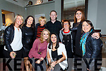 Some of the Lip Sync Stars at the Sea Lodge Waterville on Saturday for the Michael Curran Fundraiser pictured front l-r; Danielle O'Shea, Gemma Donnelly, back l-r; Sara Dwyer, Brenda Myles, Jackie O'Shea, Colm Cooper, Nula O'Sullivan, Leona Curran & Ursula Jouen.