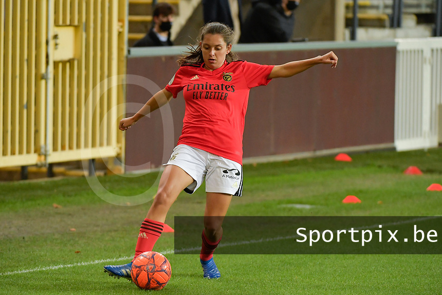 pictured during a female soccer game between RSC Anderlecht Dames and Portugese Benfica Ladies  in the second qualifying round for the Uefa Womens Champions League of the 2020 - 2021 season , Wednesday 18 th of November 2020  in ANDERLECHT , Belgium . PHOTO SPORTPIX.BE | SPP | DIRK VUYLSTEKE
