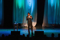 Aziz Ansari performing live at the Royal Oak Musioc Theatre in Royal Oak, Michigan on May 5, 2012. © Joe Gall / MediaPunch Inc.