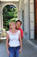 Ron and Stacey, Sacramento, California, Sunday, July 8, 2012.