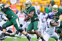 Baylor inside receiver Corey Coleman (1) rushes with the ball during an NCAA football game, Saturday, October 11, 2014 in Waco, Tex. Baylor defeated TCU 61-58 to remain undefeated in BIG 12 conference. (Mo Khursheed/TFV Media via AP Images)
