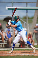 Patrick Romeri during the WWBA World Championship at the Roger Dean Complex on October 19, 2018 in Jupiter, Florida.  Patrick Romeri is an outfielder from Sarasota, Florida who attends IMG Academy and is committed to Villanova.  (Mike Janes/Four Seam Images)