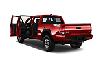 Car images close up view of 2016 Toyota Tacoma TRD Off Road Double 4 Door Pick Up doors