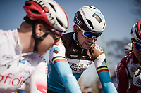Oliver Naesen (BEL/AG2R-La Mondiale) with fellow Belgians at the start<br /> <br /> 110th Milano-Sanremo 2019 (ITA)<br /> One day race from Milano to Sanremo (291km)<br /> <br /> ©kramon