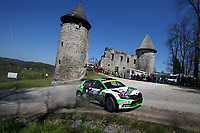 24th April 2021; Zagreb, Croatia; WRC Rally of Croatia, stages 9-16; Andreas Mikkelsen - Skoda Fabia Evo WRC2
