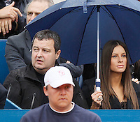 Tenis, Serbia Open 2011.Final.Novak Djokovic (SRB) Vs. Feliciano Lopez (ESP).Serbia'a vice Prime Minister  Ivica Dacic, attend match.Beograd, 01.05.2011..foto: Srdjan Stevanovic
