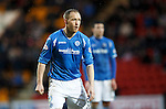 St Johnstone v Aberdeen...06.02.16   SPFL   McDiarmid Park, Perth<br /> Steven Anderson<br /> Picture by Graeme Hart.<br /> Copyright Perthshire Picture Agency<br /> Tel: 01738 623350  Mobile: 07990 594431