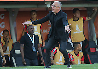 11th March 2020; Estadio Monumental David Arellano; Santiago, Chile; Copa Libertadores, Colo Colo versus Athletico Paranaense; Athletico Paranaense manager Dorival Junior