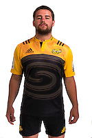 Dane Coles. Hurricanes Super Rugby official headshots at Rugby League Park, Wellington, New Zealand on Wednesday, 6 January 2016. Photo: Dave Lintott / lintottphoto.co.nz