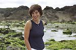Lieve Joris in Saint Malo, France in 1999.
