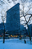 "#JP0723 ""Flatiron Building & Madison Sq. Park - New York N"