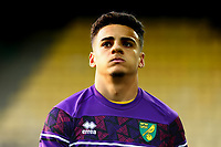 7th November 2020; Carrow Road, Norwich, Norfolk, England, English Football League Championship Football, Norwich versus Swansea City; Max Aaron of Norwich City during the warm up