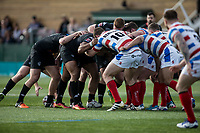 during the Kingstone Press Championship match between London Broncos and Rochdale Hornets at Castle Bar , West Ealing , England  on 26 March 2017. Photo by Steve Ball / PRiME Media Images.