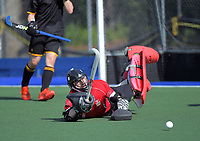 2020 Lower North Island Secondary Schools Hockey Boys Premiership tournament final between St Paul's Collegiate School and Wellington College at Fitzherbert Park Twin Turfs in Palmerston North, New Zealand on Friday, 4 September 2020. Photo: Dave Lintott / lintottphoto.co.nz