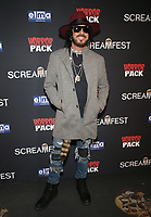 HOLLYWOOD, CA - OCTOBER 12: Nikki Sixx at the 21st Screamfest Opening Night Screening Of The Retaliators at Mann Chinese 6 Theatre in Hollywood, California on October 12, 2021. Credit: Faye Sadou/MediaPunch