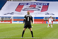 during first half action between USA and Panama in a FIFA 2006 World Cup Qualifier at Gillette Stadium, Foxborough, MA, on October 12, 2005.