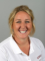 Melissa Sideman member of Stanford women's water polo team. Photo taken Tuesday, September 25, 2012. ( Norbert von der Groeben )