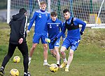 St Johnstone Training... 05.03.21<br />Guy Melamed pictured during training at McDiarmid Park this morning...<br />Picture by Graeme Hart.<br />Copyright Perthshire Picture Agency<br />Tel: 01738 623350  Mobile: 07990 594431