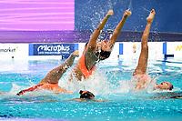 GREECE GRE <br /> GALA <br /> Artistic Swimming<br /> Budapest  - Hungary  15/5/2021<br /> Duna Arena<br /> XXXV LEN European Aquatic Championships<br /> Photo Andrea Staccioli / Deepbluemedia / Insidefoto