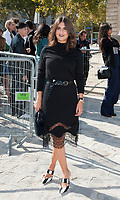 September 29 2017, PARIS the Nina Ricci Show at the Paris Fashion Week<br /> Spring Summer 2017 / 2018. Actress Geraldine Nakache invited at the show.
