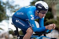 Marc Soler (ESP/Movistar)<br /> <br /> Final stage 7 (ITT) from San Benedetto del Tronto to San Benedetto del Tronto (10.1km)<br /> <br /> 56th Tirreno-Adriatico 2021 (2.UWT) <br /> <br /> ©kramon