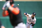 Reno Aces' Braden Shipley pitches against the Fresno Grizzlies at Greater Nevada Field in Reno, Nev., on Tuesday, April 26, 2016. <br />