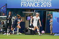 PARIS, FRANCE - JUNE 28: Megan Rapinoe #15 prior to a 2019 FIFA Women's World Cup France quarter-final match between France and the United States at Parc des Princes on June 28, 2019 in Paris, France.