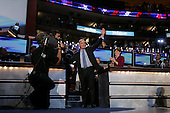 Boston, Mass..USA.July 27, 2004..Thee National Democratic Convention in Boston. Howard Dean, Former Governor of Vermont, 2004.Presidential Candidate addresses the convention.