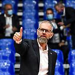 21.11.2020, Zeppelin CAT Halle A1, Friedrichshafen, GER, DVL, VfB Friedrichshafen vs Berlin Recycling Volleys,<br /> im Bild Michael Warm (Friedrichshafen)<br /> <br /> Foto © nordphoto / Hafner