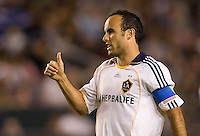 LA Galaxy forward Landon Donovan. The LA Galaxy defeated the Chicago Fire 1-0 at Home Depot Center stadium in Carson, California on Friday October 2, 2009...