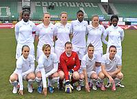 France U19 - Belgium U19 : French Team.foto DAVID CATRY / Nikonpro.be