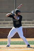 Will Craig (22) of the Wake Forest Demon Deacons at bat against the Florida State Seminoles at David F. Couch Ballpark on April 16, 2016 in Winston-Salem, North Carolina.  The Seminoles defeated the Demon Deacons 13-8.  (Brian Westerholt/Four Seam Images)