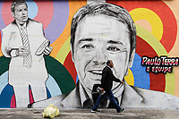 02.12.2019 - Grafite em homenagem a Gugu Liberato em SP