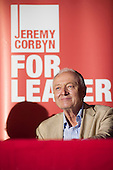 Ken Livingstone.  1500 people attend a rally in support of Jeremy Corbyn for Labour Party leader, Camden Centre, London.
