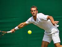 England, London, 27.06.2014. Tennis, Wimbledon, AELTC, Ante Pavic (CRO)<br /> Photo: Tennisimages/Henk Koster